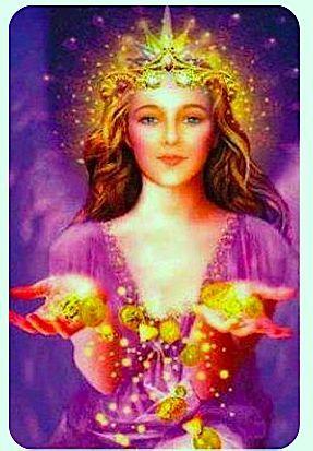 La Señora Abundancia o Señora Fortuna Fortuna, es un Ser de Luz del Sexto 6º Rayo Oro Rubí de la Provisión Divina que rige el Arcángel URIEL. ...
