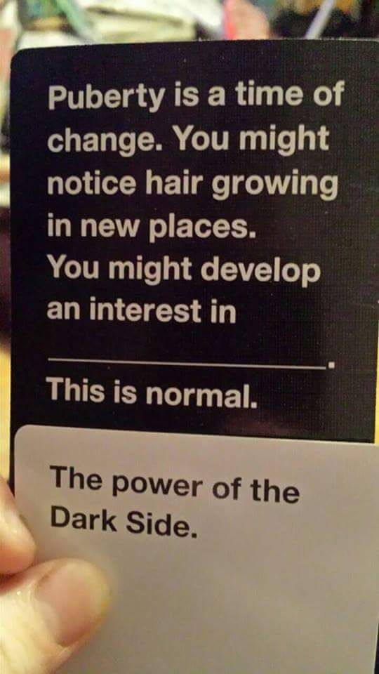 authorchasblankenship: If Kylo Ren played Cards Against Humanity << so accurate