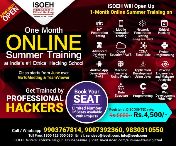 Pin By Debjit Banerjee On Isoeh In 2020 Cybersecurity Training Security Training Cyber Security Course