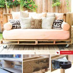 Dacă îți dorești un proiect DIY ale cărui rezultate să le poți împărtăși cu ceilalți, învață cum să realizezi o canapea din paleți. Află mai multe despre cum poți confecționa o astfel de canapea, citind cel mai recent articol: http://www.bodnar.eu/proiectul-diy-canapea-din-paleti/»