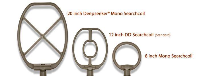 Τρία πηνία αναζήτησης για όλα τα βάθη ανίχνευσης! Μόνο στο κατάστημά μας. Άμεσα διαθέσιμο: τηλ. 2381023237