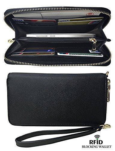 New Trending Purses: Womens RFID Blocking Fashion Lady Women Clutch Leather Long Wallet Card Holder. Womens RFID Blocking Fashion Lady Women Clutch Leather Long Wallet Card Holder  Special Offer: $10.99  188 Reviews RFID??RFID: Radio Frequency Identification Denoting technologies that use radio waves to identify people and objects carrying encoded chips. These can include credit card...