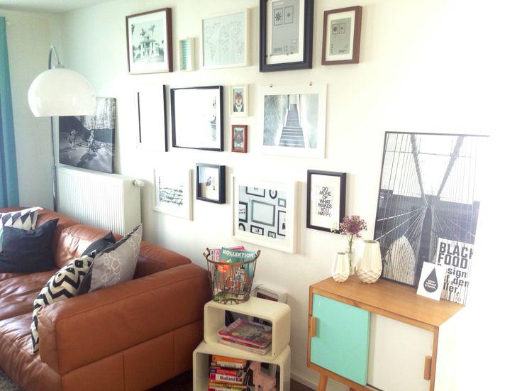 Picture Photo Wall Bilderwand Wohnzimmer