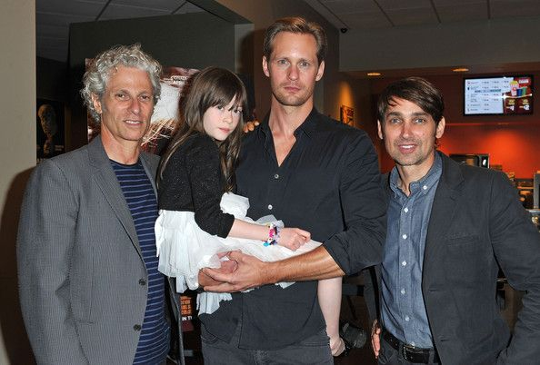 """Alexander Skarsgard Photos - Co-director David Siegel, actors Onata Aprile and Alexander Skarsgard and co-director Scott McGehee attend the LA Times Indie Focus Screening of """"What Masie Knew"""" at Laemmle NoHo 7 on May 16, 2013 in North Hollywood, California. - 'What Masie Knew' Screening in North Hollywood"""