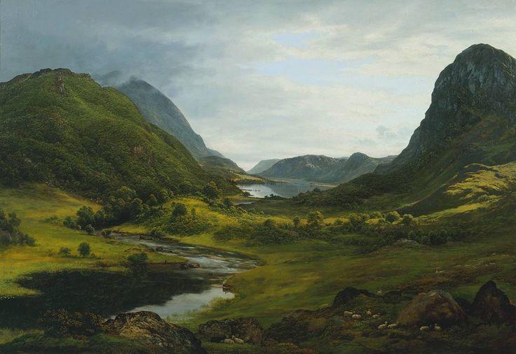 John Glover 'Thirlmere', c.1820–30