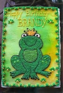 decorate a frog cake with buttercream - Google Search