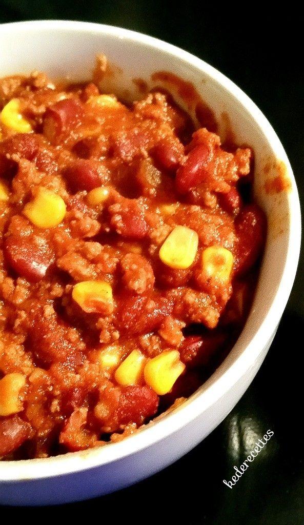 Les 25 meilleures id es de la cat gorie chili con carne sur pinterest enchiladas au fromage et - Recette chili cone carne thermomix ...