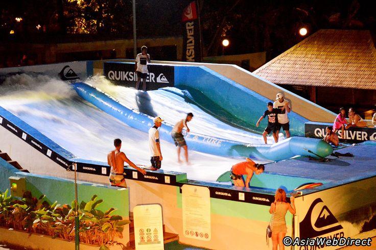 Surf & Turf Beach Club at The Bay Bali - Flowrider and Water Park in Nusa Dua