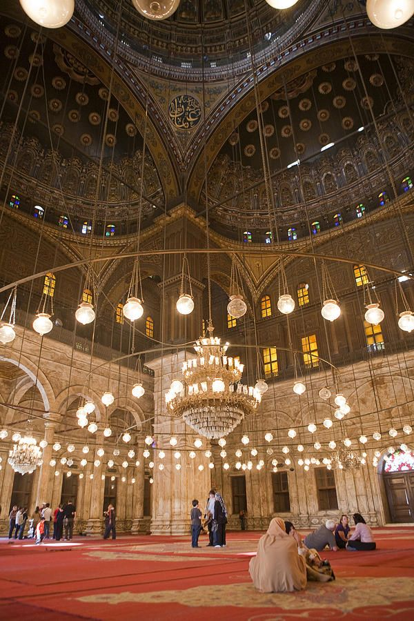 Emmy DE * The mosque of Mohammed Ali in Saladin's Citadel in Cairo, Egypt