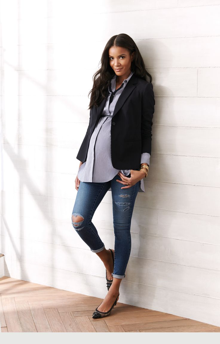 841 best maternity style spring summer 2015 a pea in the pod side panel destructed skinny leg maternity jeans ombrellifo Gallery