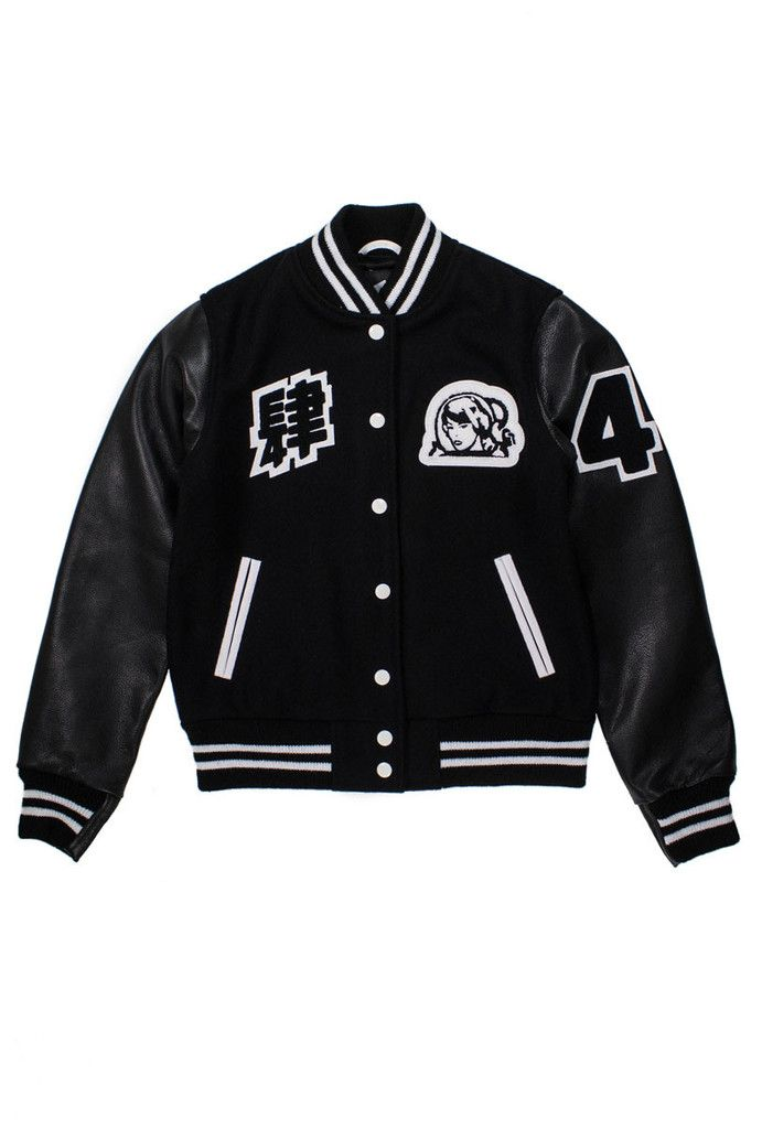 FLAGSHIP EXCLUSIVE A Varsity just for the ladies. Only 50 units worldwide. Sold exclusively at our Flagship.