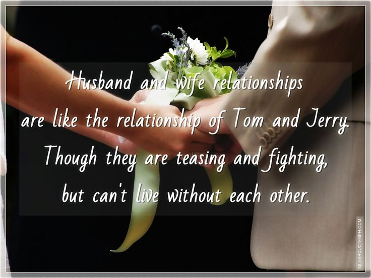 Sweet Quotes For Wife From Husband: Husband And Wife Quotes Images