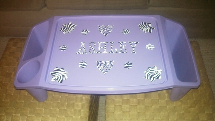 Personalized lap desk using my cricut to sell at an for Personalized crafts to make and sell