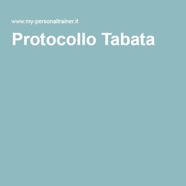 Protocollo Tabata