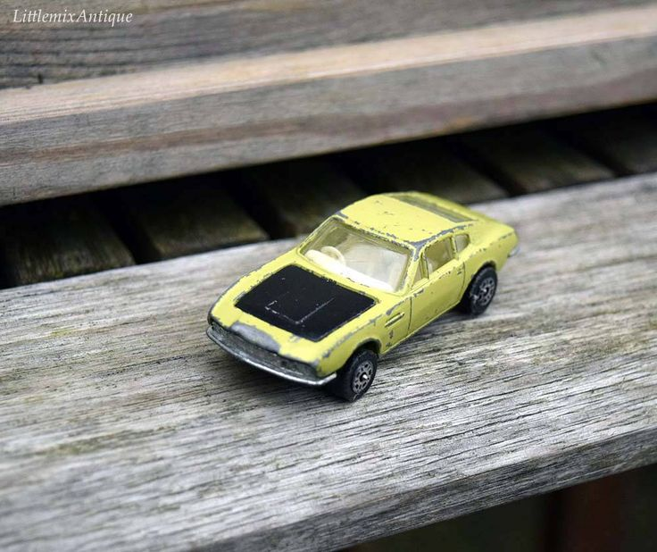 Vintage Corgi Juniors Whizzwheels Aston Martin DBS Lime Green with black bonnet Small Miniature Diecast Collector Car Made in Gt. Britain by LittlemixAntique on Etsy