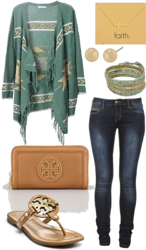 """Aztec Casual"" by peytonchildress on Polyvore"