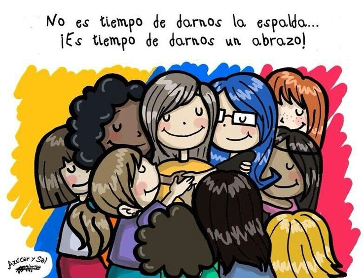 Abrazo grupal♥
