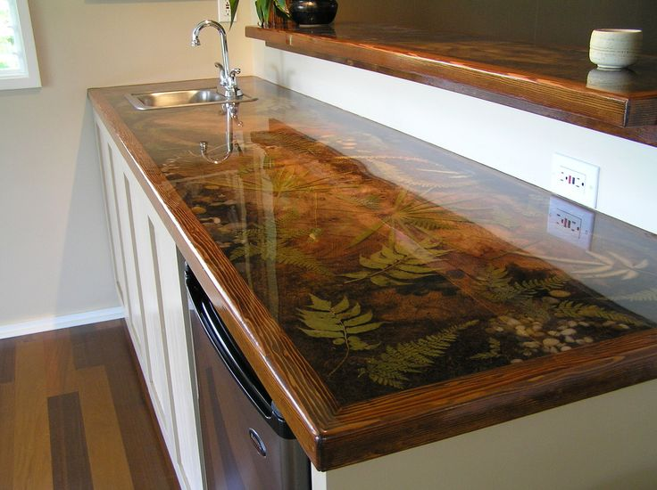 Beautiful Custom Resin Countertop More Design Ideas