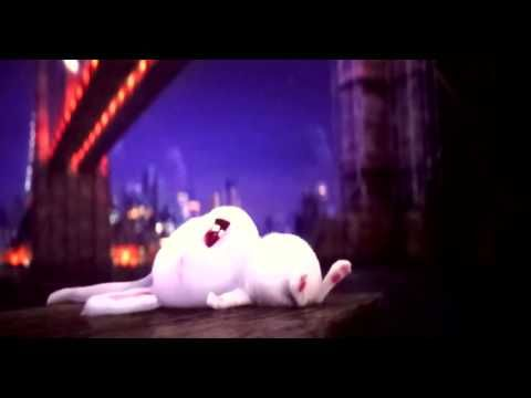 The Secret Life of Pets - Bunny is handsome and wet - YouTube