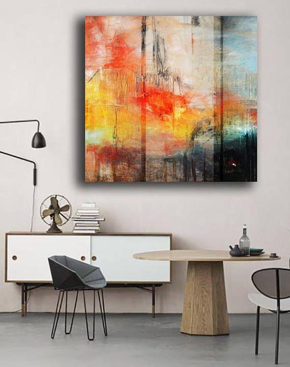 25 beste ideen over Moderne abstracte kunst op Pinterest
