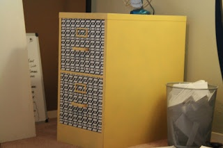 Beauprez Family: DIY refacing, and painting filing cabinets