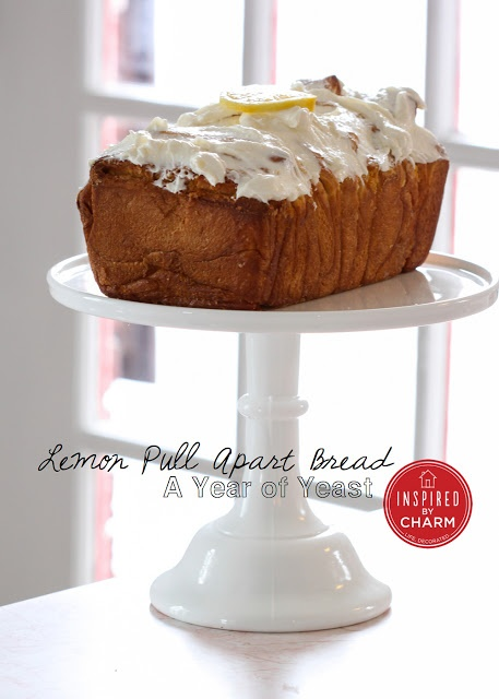 Lemon Pull Apart Bread Perfect for a Spring brunch! #HomeGoodsHappy
