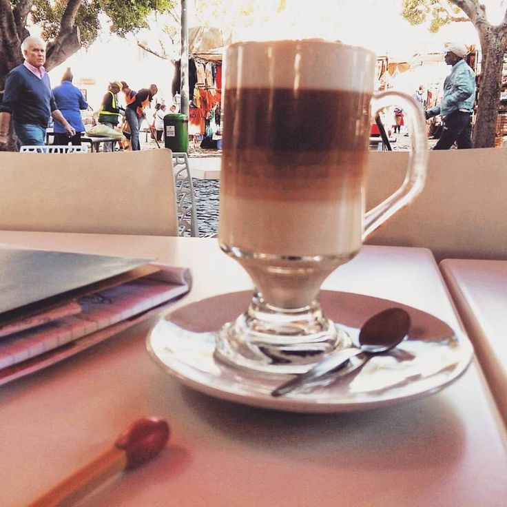 """""""Love what you do and never work another day in your life"""". My office is wherever me and my coffee are #lovewhatyoudo #coffeeforthewin #greenmarketsquare #capetown #entrepreneur #5dninja"""