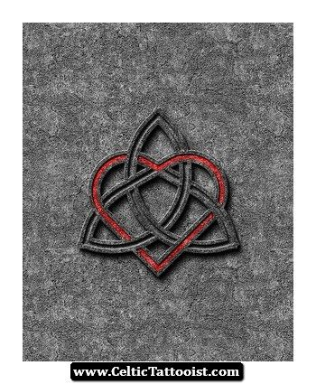 soul mate tattoos | Celtic Soul Mate Symbol Tattoo Tattoos