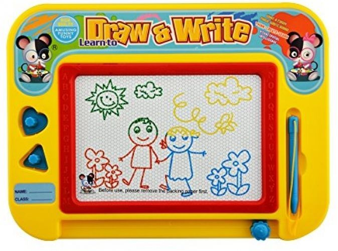 Kids Magnetic Drawing Board Magnetic Erasable Colorful ...