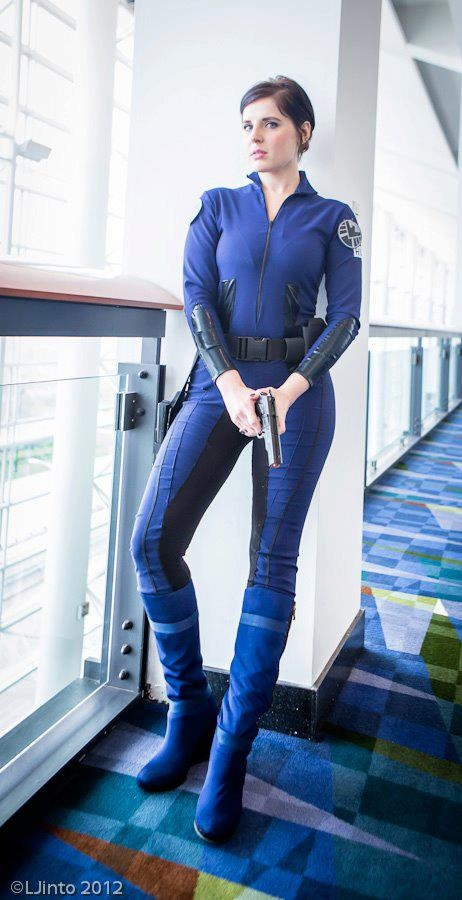 Maria Hill cosplay. Agent of shield