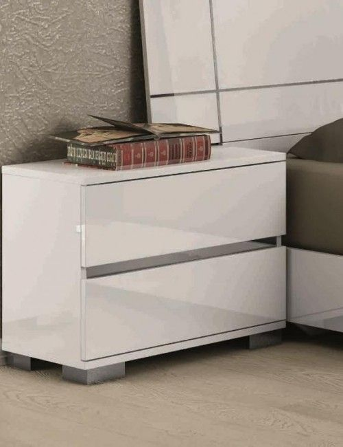 Modern tall bedside table