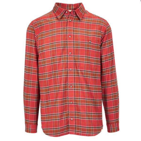 FRILUFTS Greely L/S Shirt Männer - Outdoor Hemd // https://www.globetrotter.de/shop/frilufts-greely-ls-shirt-278373-mulch/?sku=278373008