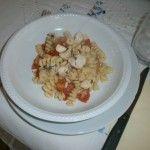 Spaghetti con scorfano e pomodorini