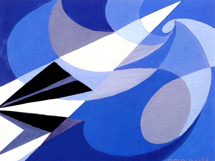 Future, 1923 by Giacomo Balla. Futurism. abstract