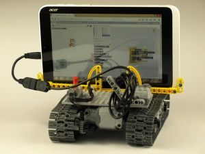 Mobile Lego WeDo controled by Scratch