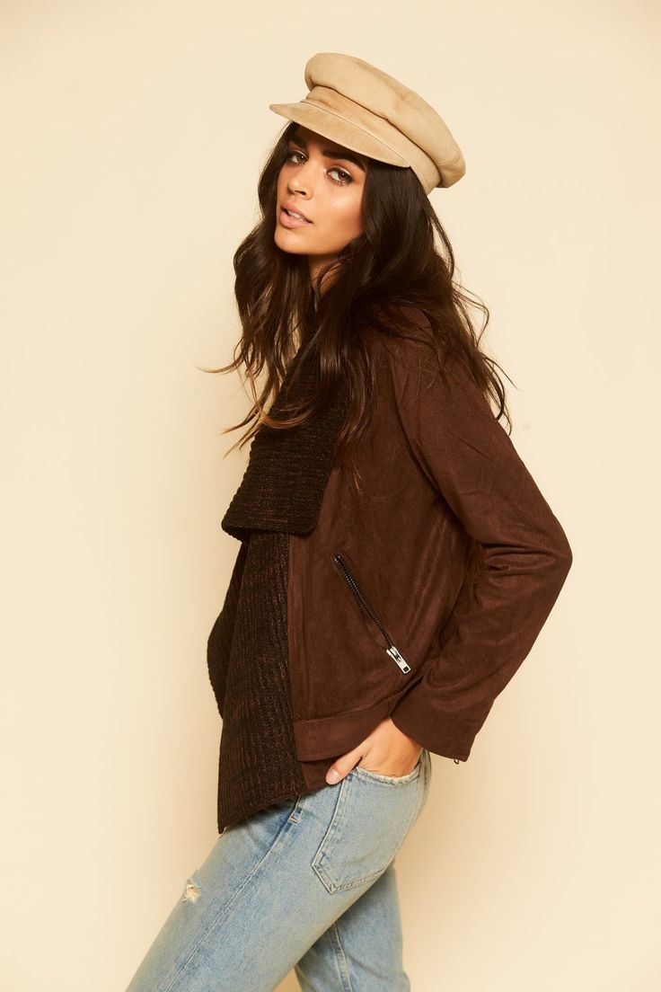 Uptown Streets Brown Suede Jacket – 12th Tribe - #12thtribe #newarrivals #shop12thtribe