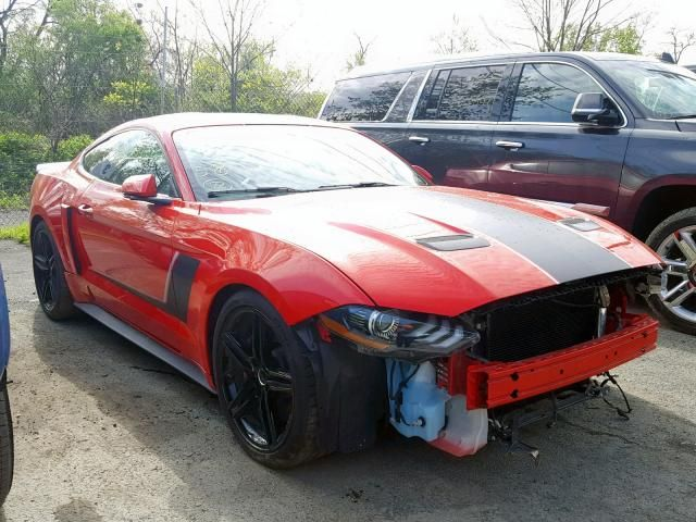 Salvage 2018 Ford Mustang Gt Roush Coupe For Sale Salvage Title