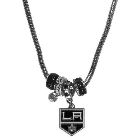 Los Angeles Kings® Euro Beaded Necklace