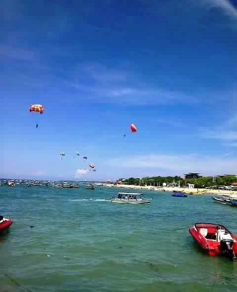 Summer At Nusa Dua Beach, Bali