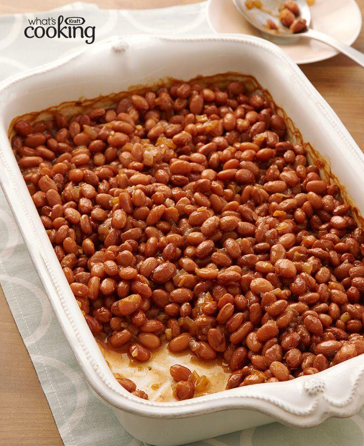 Maple Baked Beans #recipe