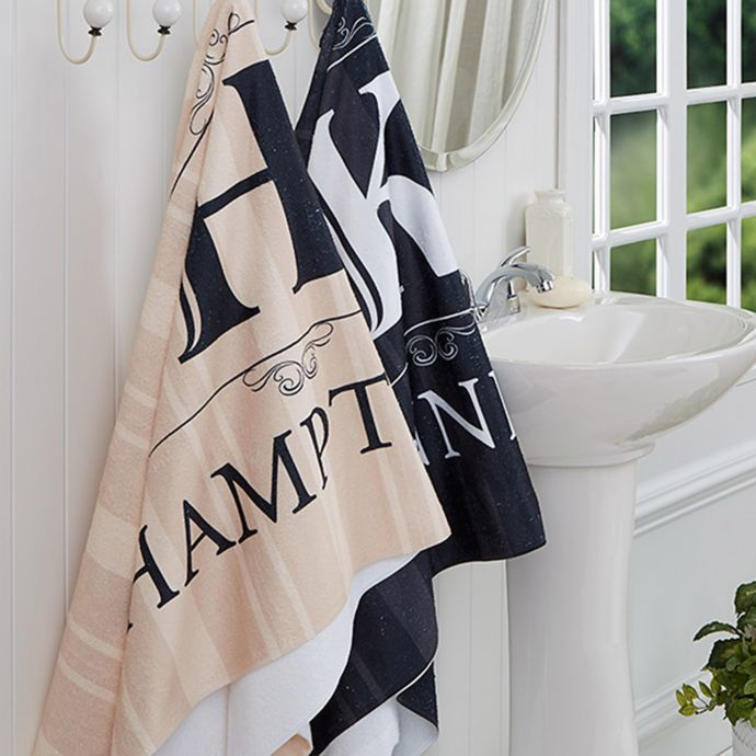Elegant Monogram Bath Towel Bed Bath Beyond Monogrammed Bath