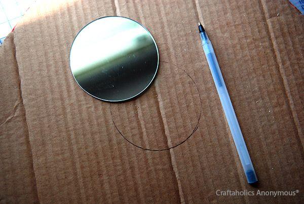 DIY Spoon Mirror