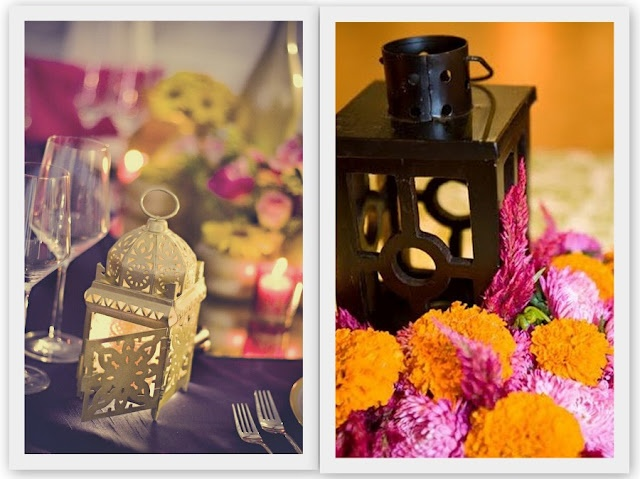 An Indian Summer orange and pink look so awesome together!