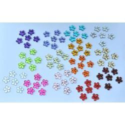 Kryształki Kwiatki Akrylowe  Acrylic flowers