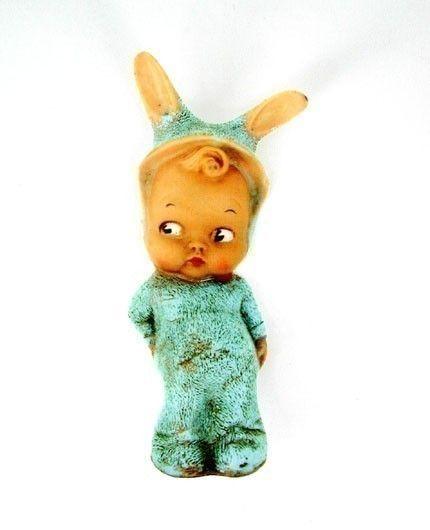 Vintage Toy Bunny Patch