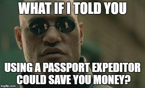 Is expedited passport service worth it? What if I told you that a passport expediting service could actually save you money? Because it totally could.