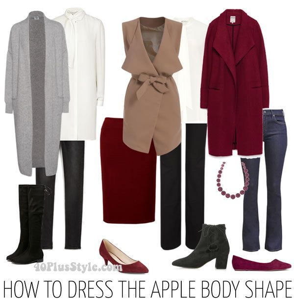 How To Dress The Apple Body Shape The Best Tops And
