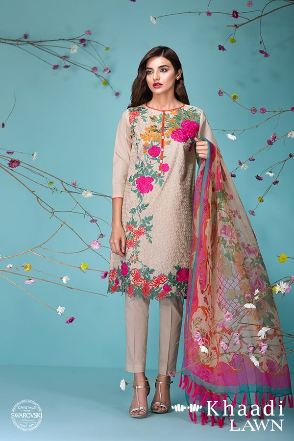cool Khaadi Lawn Sun Bleached Neutrals Summer Collection 2016 by http://www.dezdemon-fashion-trends.xyz/latest-fashion-trends/khaadi-lawn-sun-bleached-neutrals-summer-collection-2016/