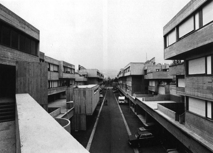 Matteotti Village, Terni, Italy, 1971-74  (Giancarlo De Carlo)