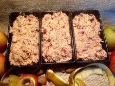 Apfelbrot mit Nüssen, ein super Brot zu Weihnachten #backen #essen #brot #brötchen #apfelbrot #nussbrot #jernrive #rezept #apfel #nüsse